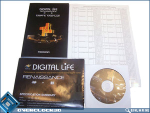 Foxconn Renaissance user manual, quick start guide, driver CD and memory vendor list