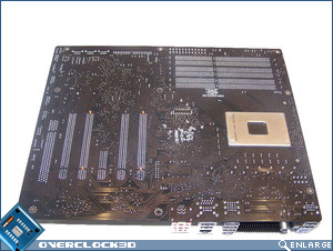 Foxconn Renaissance rear of motherboard