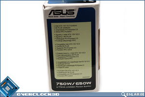 ASUS Vento 750w Box Side