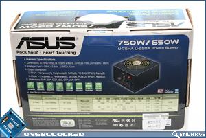 ASUS Vento 750w Box Back