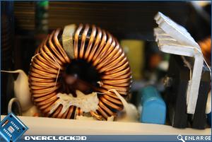 ASUS Vento 750w Ferrite Coil