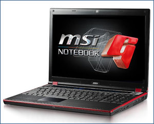 MSI GT627 notebook