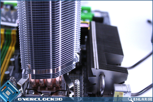 heatsink clearence