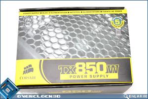 Corsair TX 850w Box