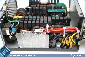 Corsair TX 850w Inside