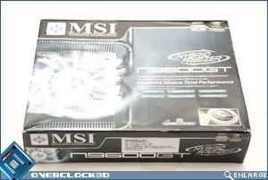 MSI 9600gt Hybrid Cooler Packaging
