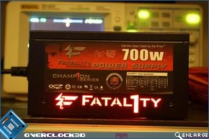 OCZ Fatal1ty 700w Logo