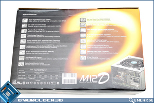 Seasonic M12D Packaging Back