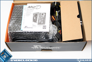 Seasonic M12D 750w Box Open