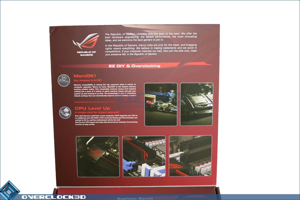 Asus mATX ROG Rampage II Gene X58 Motherboard | Packaging
