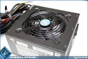 Seasonic M12D 750w Fan