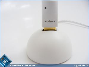 Edimax wireless nLITE USB adaptor and base close up