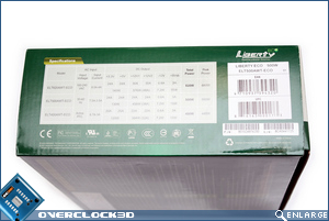 Enermax Liberty EC 500w Box Side