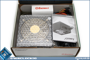 Enermax Liberty EC 500w Box Open