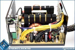 Enermax Liberty EC 500w Inside