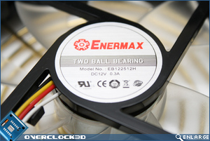 Enermax Liberty EC 500w Fan