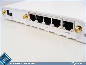 Edimax BR-6574n - Rear Panel