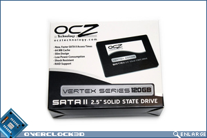 OCZ Vertex 120GB SSD Box Front