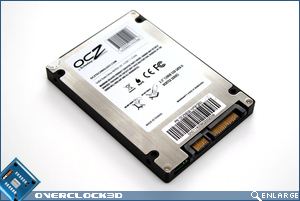 OCZ Vertex 120GB Bottom