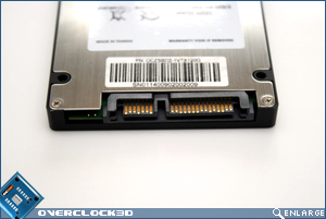 OCZ Vertex 120GB Connectors