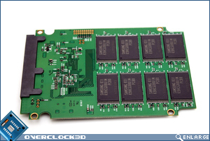 OCZ Vertex 120GB Rear PCB