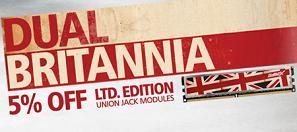 Memory with style - Dual Britannia from Crucial