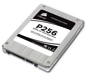 The new high-performance 256GB P256 from Corsair