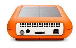 The new Rugged XL 1-TB external hard drive from LaCie