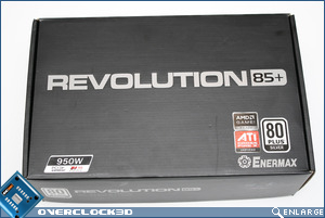 Enermax Revolution85+ Box Front
