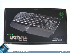 Razer Arctosa - Box Top