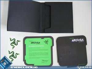 Razer Arctosa - Wallet Contents