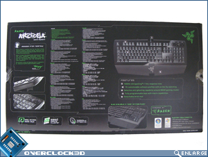 Razer Arctosa - Box Bottom