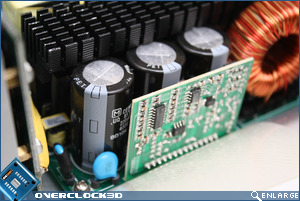 Enermax Revolution85+ Capacitors
