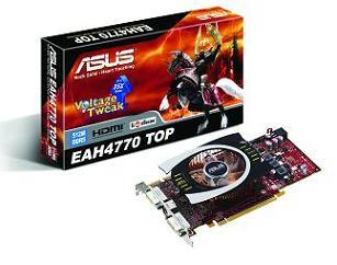 The ASUS EAH4770 TOP graphics card