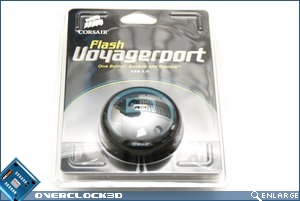 Corsair Flash Voyager Port Packaging Front