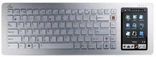 The Asus Eee Keyboard is a veritable netbook