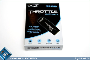 OCZ Throttle 32GB Box Front
