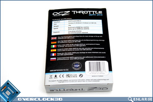 OCZ Throttle 32GB Box Back