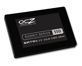 OCZ's new Summit Series SSDs are designed for both high-end games and desktop and notebook users.