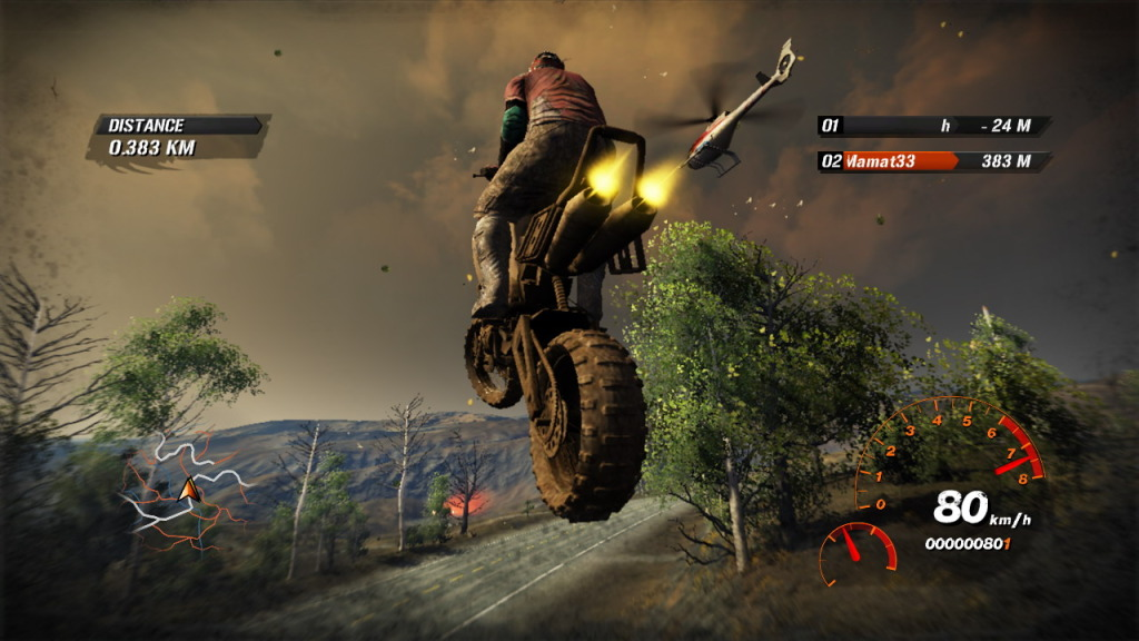 Fuel Screenshot bike