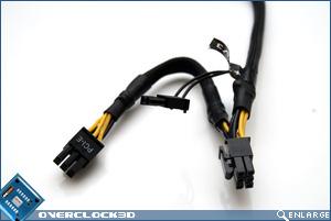 BFG EX-1200 PCI-E Cables