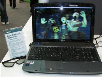 The 3D-capable notebook will have a software to turn 2D films into exciting 3D ones