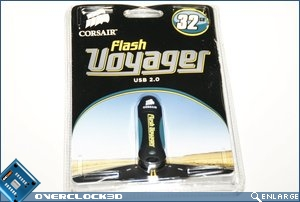 Corsair Flash Voyager Packaging