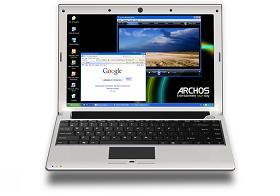 The ARCHOS 13 ultra-mobile laptop