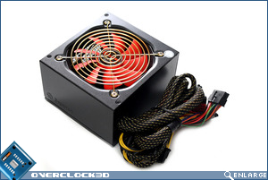 Enermax ECO80+ 350w PSU Bottom