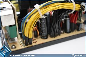 Enermax ECO80+ 350w Caps