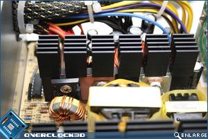 Enermax ECO80+ 350w Mosfets