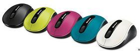 The Microsoft Wireless Mobile Mouse 4000