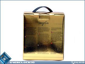 Nexus XiR-3500 Copper Edition Box Back