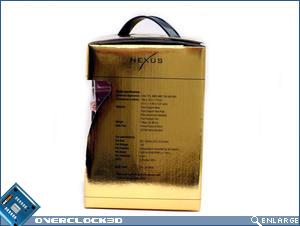 Nexus XiR-3500 Copper Edition Box Side